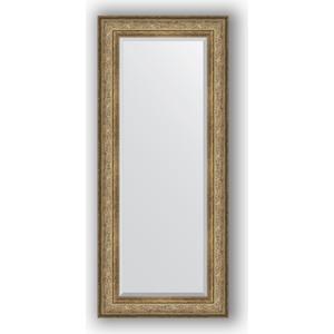 Зеркало с фацетом в багетной раме поворотное Evoform Exclusive 65x150 см, виньетка античная бронза 109 мм (BY 3555) зеркало с фацетом в багетной раме поворотное evoform exclusive 80x170 см виньетка серебро 109 мм by 3608