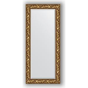 Зеркало с фацетом в багетной раме поворотное Evoform Exclusive 69x159 см, византия золото 99 мм (BY 3571) зеркало с фацетом в багетной раме поворотное evoform exclusive 59x139 см византия золото 99 мм by 3519