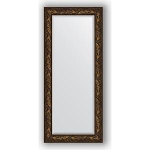 Зеркало с фацетом в багетной раме поворотное Evoform Exclusive 69x159 см, византия бронза 99 мм (BY 3573)