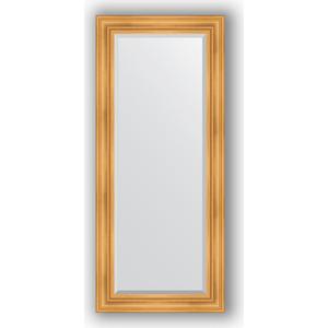 Зеркало с фацетом в багетной раме поворотное Evoform Exclusive 69x159 см, травленое золото 99 мм (BY 3574)