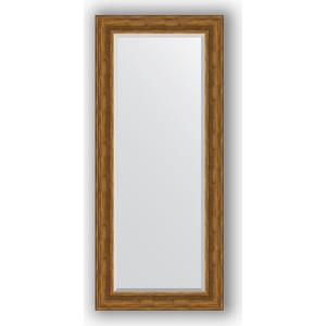 Зеркало с фацетом в багетной раме поворотное Evoform Exclusive 69x159 см, травленая бронза 99 мм (BY 3576)