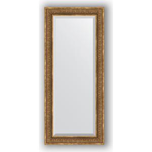 Зеркало с фацетом в багетной раме поворотное Evoform Exclusive 69x159 см, вензель бронзовый 101 мм (BY 3578)