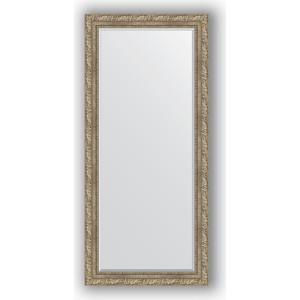 Зеркало с фацетом в багетной раме поворотное Evoform Exclusive 75x165 см, виньетка античное серебро 85 мм (BY 3591)