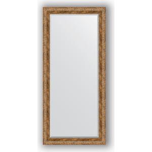 Зеркало с фацетом в багетной раме поворотное Evoform Exclusive 75x165 см, виньетка античная бронза 85 мм (BY 3592)