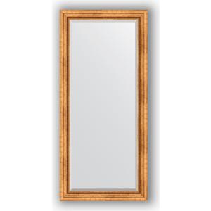 Зеркало с фацетом в багетной раме поворотное Evoform Exclusive 76x166 см, римское золото 88 мм (BY 3594) уорнер элла римское лето роман