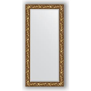 Зеркало с фацетом в багетной раме поворотное Evoform Exclusive 79x169 см, византия золото 99 мм (BY 3597) зеркало с фацетом в багетной раме поворотное evoform exclusive 59x139 см византия золото 99 мм by 3519