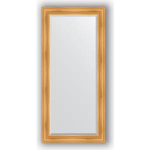 Зеркало с фацетом в багетной раме поворотное Evoform Exclusive 79x169 см, травленое золото 99 мм (BY 3600) зеркало с фацетом в багетной раме поворотное evoform exclusive 59x119 см травленое золото 99 мм by 3496