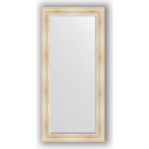 Зеркало с фацетом в багетной раме поворотное Evoform Exclusive 79x169 см, травленое серебро 99 мм (BY 3601)
