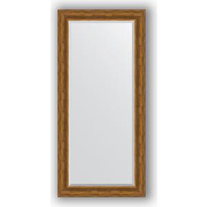 Зеркало с фацетом в багетной раме поворотное Evoform Exclusive 79x169 см, травленая бронза 99 мм (BY 3602)