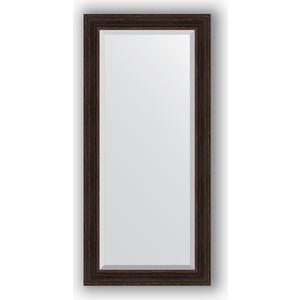 Зеркало с фацетом в багетной раме поворотное Evoform Exclusive 79x169 см, темный прованс 99 мм (BY 3603)