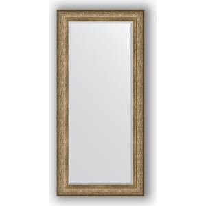 Зеркало с фацетом в багетной раме поворотное Evoform Exclusive 80x170 см, виньетка античная бронза 109 мм (BY 3607) зеркало с фацетом в багетной раме поворотное evoform exclusive 70x160 см виньетка античная бронза 109 мм by 3581