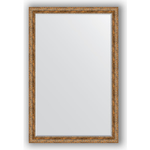 Зеркало с фацетом в багетной раме поворотное Evoform Exclusive 115x175 см, виньетка античная бронза 85 мм (BY 3618)