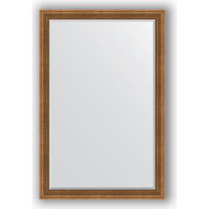 Зеркало с фацетом в багетной раме поворотное Evoform Exclusive 117x177 см, бронзовый акведук 93 мм (BY 3622) зеркало с фацетом в багетной раме поворотное evoform exclusive 67x157 см серебряный акведук 93 мм by 1288