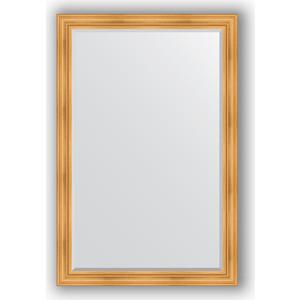 Зеркало с фацетом в багетной раме поворотное Evoform Exclusive 119x179 см, травленое золото 99 мм (BY 3626) зеркало с фацетом в багетной раме поворотное evoform exclusive 59x119 см травленое золото 99 мм by 3496