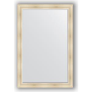 Зеркало с фацетом в багетной раме поворотное Evoform Exclusive 119x179 см, травленое серебро 99 мм (BY 3627) зеркало с фацетом в багетной раме поворотное evoform exclusive 80x170 см виньетка серебро 109 мм by 3608