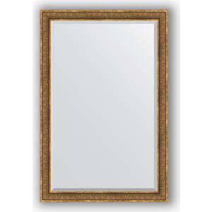 Зеркало с фацетом в багетной раме поворотное Evoform Exclusive 119x179 см, вензель бронзовый 101 мм (BY 3630) цена и фото
