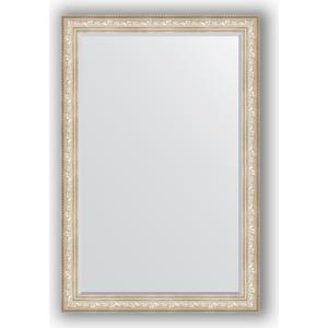 Зеркало с фацетом в багетной раме поворотное Evoform Exclusive 120x180 см, виньетка серебро 109 мм (BY 3634) зеркало с фацетом в багетной раме поворотное evoform exclusive 80x170 см виньетка серебро 109 мм by 3608