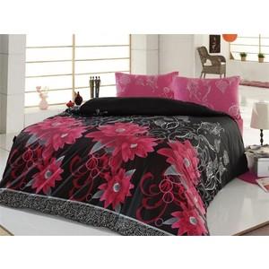Комплект постельного белья Cotton Life 1,5 сп Casablanca фуксия (6047)