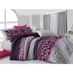 Комплект постельного белья Cotton Life 1,5 сп Jadore фуксия (8021)