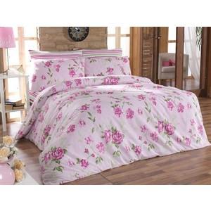 Комплект постельного белья Cotton Life 1,5 сп Roselinda розовый (6065)