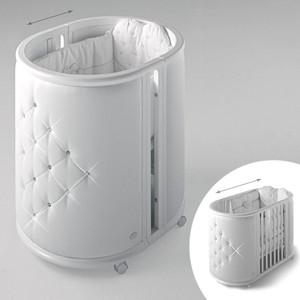 Кроватка Bambolina Perla 125х65 белый цены