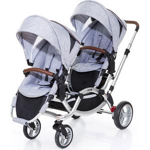 Коляска для двойни 2 в 1 FD-Design Zoom Graphite Grey 71284603/91238603 коляска 2 в 1 rant ballada grey