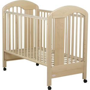 Кроватка Fiorellino Fiore 120х60 natur