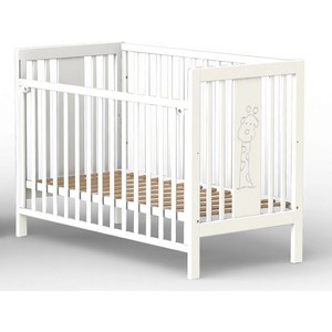 Кроватка Fiorellino Giraffe 120х60 white