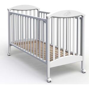 Кроватка Fiorellino Pu 120х60 white