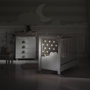 цена на Кроватка Micuna Dolce Luce Relax Plus 120х60 white/grey