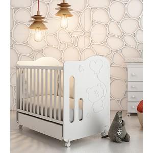 Кроватка Micuna Globito 120х60 white