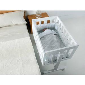 Комплект в кроватку Micuna Cododo TX-1640 Dots Grey цена