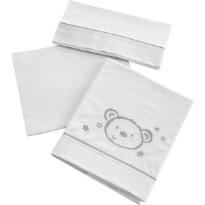 Комплект в кроватку Micuna Sweet Bear 3 предмета 120*60 TX-821 кровать micuna aura 120 60 white
