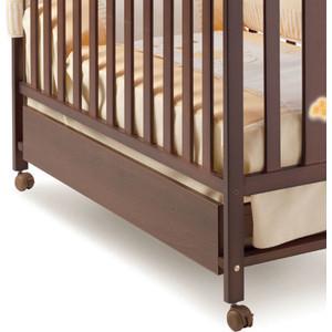 Ящик для кровати Micuna 120*60 CP-949 chocolate micuna nova 120x60