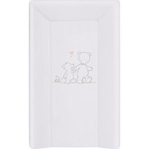 Матраc пеленальный Ceba Baby 70 см мягкий с изголовьем Papa Bear grey W-103-004-260