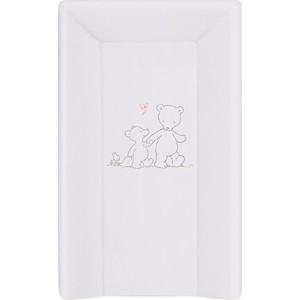 Матраc пеленальный Ceba Baby 70 см с изголовьем на кровать 120*60 Papa Bear grey W-201-004-260