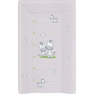 Матраc пеленальный Ceba Baby 70 см с изголовьем на кровать 120*60 Zebra grey W-201-002-260