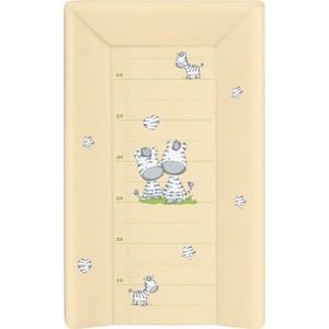 Матраc пеленальный Ceba Baby 70 см с изголовьем на кровать 120*60 см Zebra yellow W-201-002-141 цена