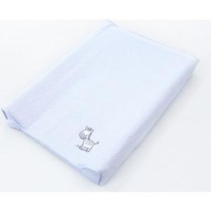 Простынь на резинке Ceba Baby на пеленальный матрасик 50x70 см Zebra blue W-820-002-160 одеяло конверт ceba baby magic tree blue принт w 810 072 160 э0000016393