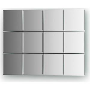 Зеркальная плитка Evoform Refractive с фацетом 5 мм, 10 х 10 см, комплект 12 шт. (BY 1422) застежка для бус zlatka карабин цвет никель 10 х 5 мм 5 шт