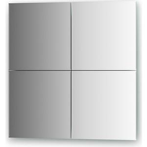 Зеркальная плитка Evoform Refractive с фацетом 5 мм, 30 х 30 см, комплект 4 шт. (BY 1430) мешки для мусора лайма комплект 5 упаковок по 30 шт 150 мешков 30 л черные в рулоне 30 шт пнд 8 мкм 50х60 см ±5
