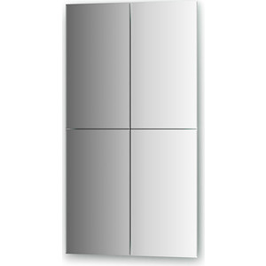 Зеркальная плитка Evoform Refractive с фацетом 5 мм, 25 х 45 см, комплект 4 шт. (BY 1445) зеркальная плитка evoform refractive с фацетом 5 мм 25 х 25 см комплект 4 шт by 1428