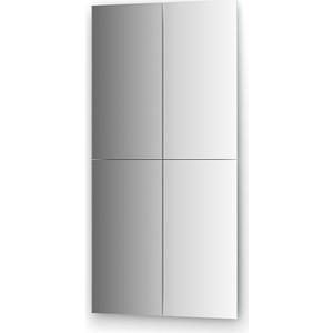 Зеркальная плитка Evoform Refractive с фацетом 5 мм, 30 х 60 см, комплект 4 шт. (BY 1447) зеркальная плитка evoform refractive с фацетом 5 мм 25 х 25 см комплект 4 шт by 1428
