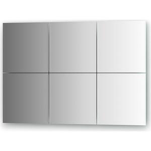 Зеркальная плитка Evoform Reflective с фацетом 10 мм, 25 х см, комплект 6 шт. (BY 1505)