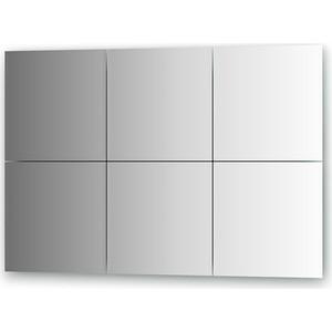 Зеркальная плитка Evoform Reflective с фацетом 10 мм, 30 х см, комплект 6 шт. (BY 1507)