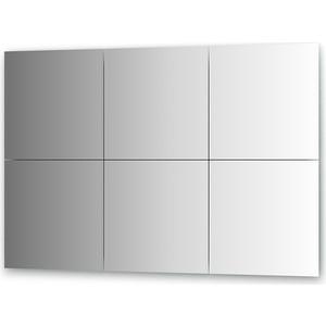 Зеркальная плитка Evoform Reflective с фацетом 10 мм, 40 х 40 см, комплект 6 шт. (BY 1509) цена и фото
