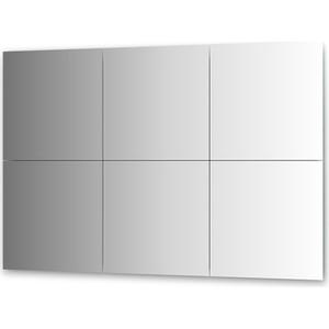 Зеркальная плитка Evoform Reflective с фацетом 10 мм, 50 х 50 см, комплект 6 шт. (BY 1511) фото