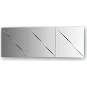 Зеркальная плитка Evoform Reflective с фацетом 10 мм, 25 х 25 см, комплект 6 шт. (BY 1517) зеркальная плитка evoform refractive с фацетом 5 мм 25 х 25 см комплект 4 шт by 1428