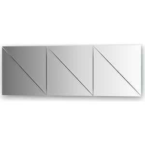 Зеркальная плитка Evoform Reflective с фацетом 10 мм, 30 х 30 см, комплект 6 шт. (BY 1519)