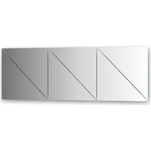 Зеркальная плитка Evoform Reflective с фацетом 10 мм, 40 х 40 см, комплект 6 шт. (BY 1521) цена и фото